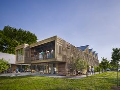 Gold Medal: Built The Challenge Program Construction Training and Education Center by Digsau