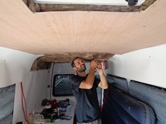 Couple Convert Sprinter Van Into A Tiny House In Just 1 Week – RV Mods – RV Guides – RV Tips | DoItYourselfRV