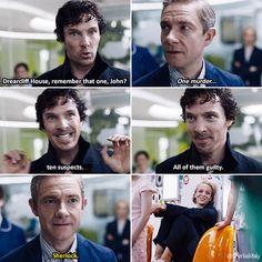 Never forget that Mary's wide smile is how John was feeling. John and Sherlock Johnlock Benedict Sherlock, Sherlock John, Benedict Cumberbatch, Sherlock Cumberbatch, Sherlock Holmes Bbc, Sherlock Fandom, Jim Moriarty, Sherlock Humor, Sherlock Season 4