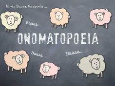 "Onomatopeia video. Short and OH so catchy...kids will absolutely ""get"" this!"