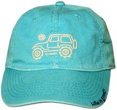 7570d030211 Life is Good Womens Chill Cap Native Offroad - Aqua Blue Jeep Cars