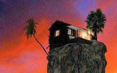 Google+ House Near Water, Sunrise, Scenery, House Styles, Google, Painting, Lonely, Peace, King
