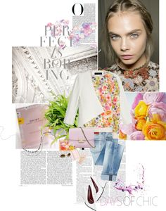"""""""my spring"""" by juliet3 ❤ liked on Polyvore"""