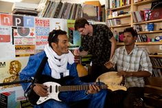 """BomBino SOUND FUSION RADIO  TOMORROW at 3pm & at 8pm Est.  """"THE FUTURE OF R&B & ENTERTAINMENT"""" BIG SPEC & D-LYN LE/STM/DJG Click Here: v http://www.soundfusionradio.net/popup-player.html   Bombino: NPR Music Tiny Desk Concert"""