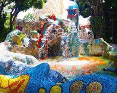 #가우디 #구엘공원 #모자이크 #타일 #분수 #짭 그래도 #이뽀 바르셀로나 간 느낌도 나궁 #fake #gaudi #mosaic #tile #fountain #travel #travelingram #traveling #travelgram #여행 #여행스타그램 #merlion #sentosa #Singapore #멀라이언타워 #멀라이언 #센토사 #싱가포르 #싱가폴 by soobin0501