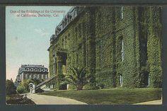 1910s ONE OF THE BUILDINGS AT THE UNIVERSITY OF CALIFORNIA BERKLEY CAL POSTCARD