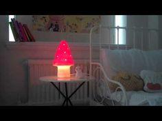 Heico little mushroom lamp by petit home
