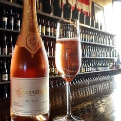 Planning on enjoying some bubbles for your #valentinesday celebrations?  Be sure to swing by the Wine Bar for a great deal on 2012 Schramsberg Brut Rosé! #champagnecampaign #visitnapavalley #donapa by bountyhunterbbqnapa
