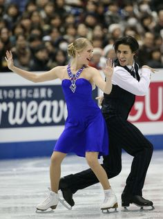Kaitlyn Weaver and Andrew Poje of Canada #GPF13 #FigureSkating