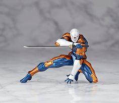 Figures Anime / Manga : Metal Gear Solid Action Figure Micro Yamaguchi Revol Mini rm-005 Cyborg Ninja 12 cm ( Kaiyodo Jap. )