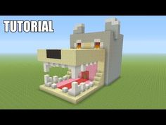 Minecraft Tutorial: How To Make A DOG! Survival House (ASH#35) - YouTube