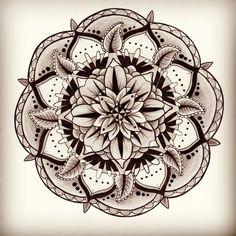 Lotus Mandala Tattoo | sacred geometry on Tumblr