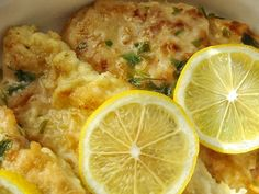 Chicken Francese--made this 5/2013.  Liked by EVERYONE!! Including the 13 and 11year olds! Didnt use the fresh parsley.  Will definitely make again.