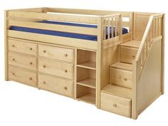 "standard loft bed | MaxFoam 5.5"" Kids Mattress from Maxtrix"