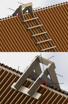 Building A Shed Roof, Home Building Tips, Building Design, House Roof Design, Facade House, Roofing Tools, Diy Shed Plans, Kitchen Room Design, A Frame House