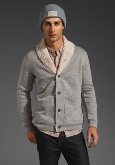 Ralph Lauren Men Cardigan Cream V-neck Mesh Sweaters   Fashion   Pinterest    Men cardigan