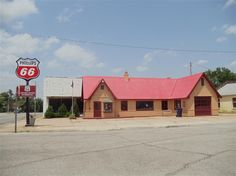 The Route 66 Visitors Center in Baxter Springs occupies a former station that dates back to 1930.