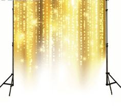 >> Click to Buy << Gold Light Sparkly Glitter Bling Backgrounds High-grade Vinyl silk cloth Computer printed wedding photo backdrop #Affiliate