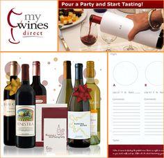 wine tasting party kits