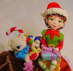 Christmas elf  - cake by Sladky svet