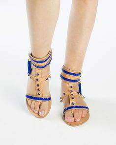 My name is Blue..and i am your unique sandal..