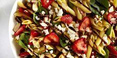 Strawberry Balsamic Pasta SaladDelish
