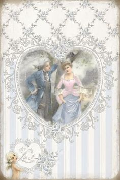 JanetK.Design Free digital vintage stuff: Rebellious Love and writings