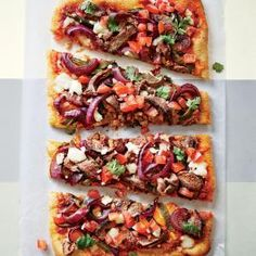 Carne Asada Pizza - Healthy Pizza Recipes - Cooking Light Mobile