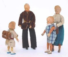 Dollhouse Family, Dollhouse Dolls, Dollhouse Miniatures, Antique Dolls, Vintage Dolls, Doll House People, Museum, Dollhouse Furniture, Fashion Dolls