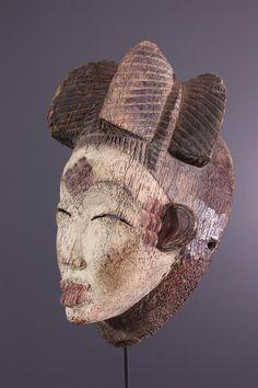 African Masks, African Art, African Print Fashion, Fashion Prints, Art Afro, Beautiful African Women, Tribal Outfit, Art Tribal, African Dashiki