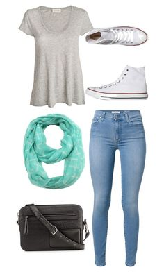 """Untitled #39"" by bussmay on Polyvore featuring 7 For All Mankind, American Vintage, ModestlyChic Apparel, Converse and Christian Louboutin"