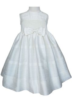 Beautiful Ivory silk dupioni pageant dress.  by CarouselWear, $119.99