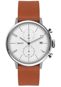 Tsovet JPT-CC38 Chrono Tan/White