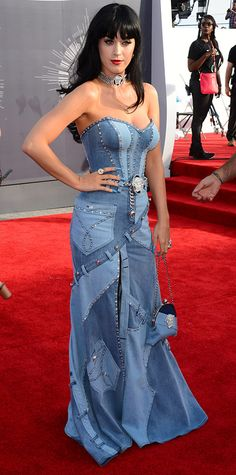 Video Music Awards 2014 Red Carpet Arrivals - Katy Perry from #InStyle