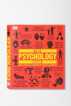 I want this book, I really really want it. The Psychology Book By Dorling Kindersley Publishing Staff #UrbanOutfitters