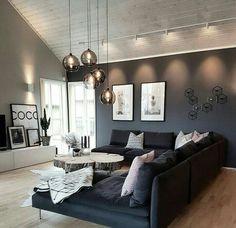 Indirekte Beleuchtung Und Wohnzimmerleuchte