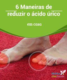 6 Maneiras de #reduzir o ácido úrico em casa  Os altos #níveis de #ácido #úrico no sangue podem ser consequência de um #problema no funcionamento dos rins. Fique atento e saiba como normalizá-los.