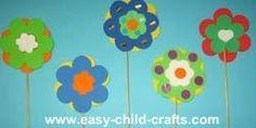 Kid Flower Crafts