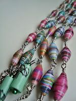 Paper Beads Supertips - AmeliaLune gives her eight best tips on how to make the best paper beads.
