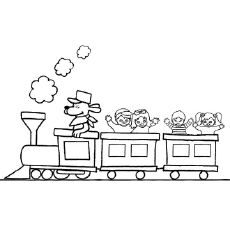 Cargo Train Coach Coloring Pages Best of the Southwest Daycare