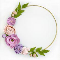 Felt Flower Wreaths, Craft Flowers, Felt Wreath, Felt Flowers, Diy Spring Wreath, Spring Door Wreaths, Diy Wreath, Party Wall Decorations, Bridal Shower Decorations