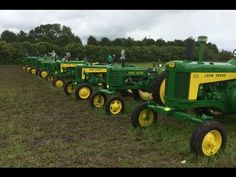 John Deere Tractor Collector Auction Owatonna, MN 6/13/15 - YouTube