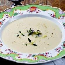 Annas  underbara jordärtskockssoppa med smak av sherry