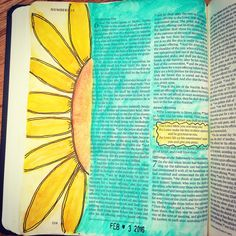 The bible 543809723747898576 - Since I last posted, my husband got me a new journaling Bible as an early birthday present so that I could finally have a wide-margin Bible in which to do my art and journaling. I got the ESV… Source by Scripture Art, Bible Art, Bible Verses, Genesis Bible, Bible Doodling, New Bible, Illustrated Faith, My Prayer, My Arts