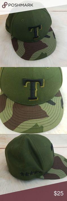 7bebb017977 MLB Texas Rangers camoflouge army camo hat New Era