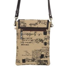 Small Calligraphy Script Print Cross Body Bag Upcycled Genuine | Etsy Crossbody Messenger Bag, Small Crossbody Bag, Leather Scraps, Eco Friendly Bags, Suede Leather, Cross Body, Script, Calligraphy, Shoulder Bag