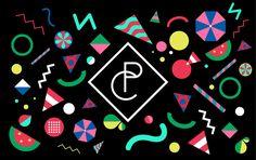 Pure Couture: Branding & graphic design for startup fashion label