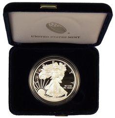 2014 Gem Proof Silver Eagle - MintProducts.com Silver Eagle Coins, Silver Eagles, 13 Colonies, Eagle Design, United States Mint, In God We Trust, Half Dollar, Silver Bars, Gems