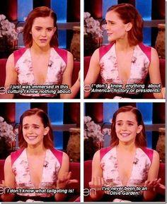 Emma Watson on America - Lolzland
