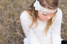 'Stevie' Headband and Longsleeve Set Vintage Headbands, Winter Collection, Beautiful Images, Girly, Elegant, Lace, How To Wear, Women's, Classy